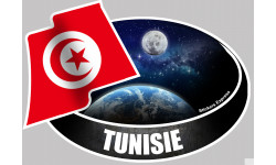 autocollant Tunisien