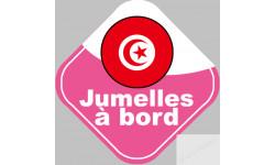bebe a bord jumelle d'origine Tunisienne