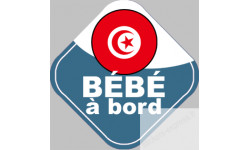 bebe a bord Tunisien