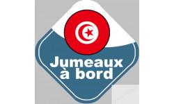 jumeaux a bord Tunisiens