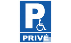 Parking handicap prive