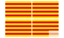 drapeau officiel Catalan