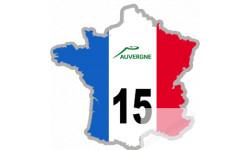 autocollant FRANCE 15