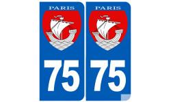 numero immatriculation Paris