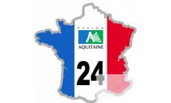 autocollant FRANCE 24