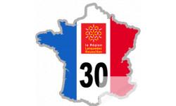 autocollant FRANCE 30