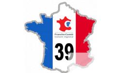 autocollant FRANCE 39