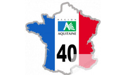 autocollant FRANCE 40