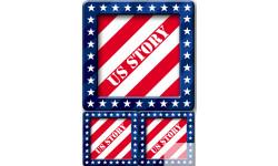 Stickers / autocollants USA