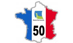 autocollant FRANCE 50