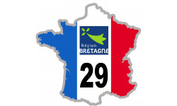 autocollant FRANCE 29