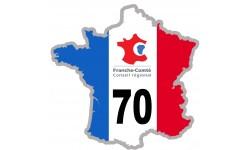 sticker / autocollant FRANCE 70