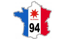 sticker / autocollant FRANCE 94 Région Ile de France