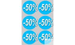 Stickers / autocollants Ronds 40% 2
