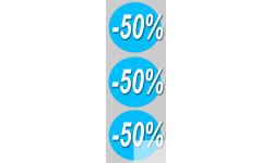 Stickers / autocollants Ronds 40% 3