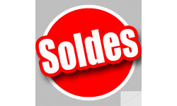 Stickers / autocollant solde OR