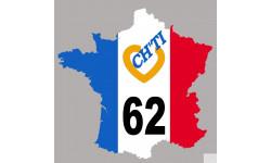 sticker autocollant France ch'ti 62
