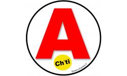 Sticker / autocollant : A Ch'ti