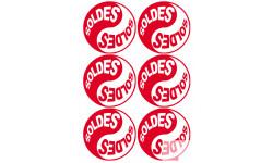 Stickers  / Autocollants série YIN YANG SOLDES 7