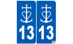 numéro immatriculation 13 La Camargue