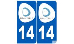 numéro immatriculation 14 DEAUVILLE