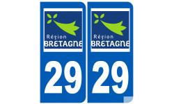 numero immatriculation 29 (region)