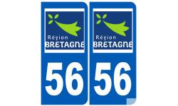 numero immatriculation 56 (region)