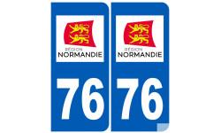 immatriculation 76 Normand
