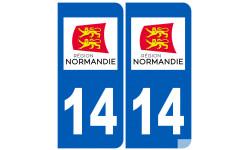 immatriculation 14 Normand