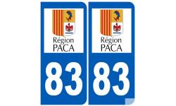numero immatriculation 83 (region)