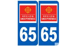 numero immatriculation 65 (region)