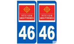 numero immatriculation 46 (region)