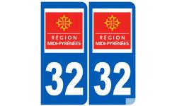 numero immatriculation 32 (region)
