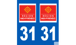 numero immatriculation 31 (region)