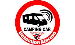 Autocollant alarme pour camping car