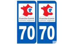 numero immatriculation 70 (region)
