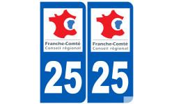 numero immatriculation 25 (region)