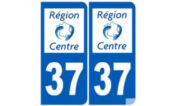 numero immatriculation 37 region