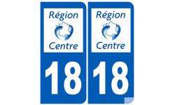 numero immatriculation 18 (region)