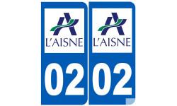 numero immatriculation 02 (l'Aisne)