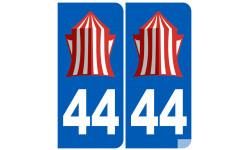 numero immatriculation 44 La Baule