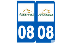 numero immatriculation 08 (Ardennes)