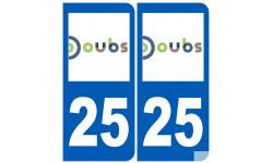 numero immatriculation 25 (Doubs)