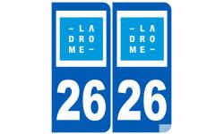 numero immatriculation 26 (Drôme)
