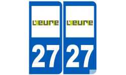 numero immatriculation 27 (Eure)