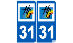 numero immatriculation 31 (Haute-Garonne)