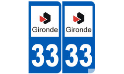 numero immatriculation 33 (Gironde)