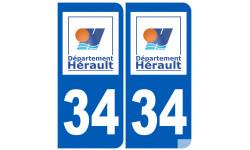 numero immatriculation 34 (Hérault)