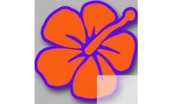 Stickers / autocollant Repère valise aéroport fleurs 4