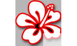 Stickers / autocollant Repère valise aéroport fleurs 5